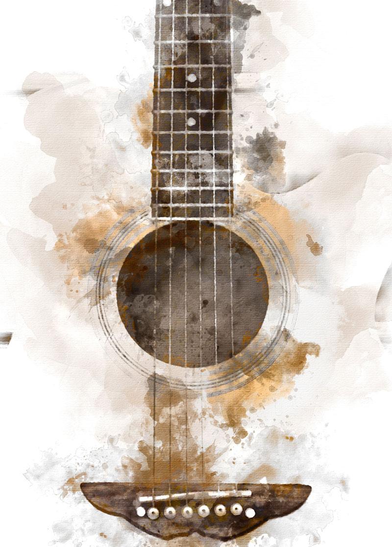 Guitar Image for Cosbots Copyright Society Botswana